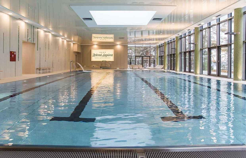 Plavecký bazén ZELENÁ LAGÚNA